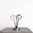 3. Jiri Genov, object Amelie II., stainless steel, starting price: 2.100,- CZK