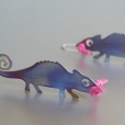 earrings Chameleon, Denisa Sedlakova
