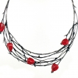 necklace Rosehip, Veronika Novotna